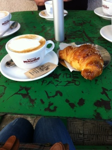 DinaM - Traditional Italian Breakfast - Cappuccino e' Cornetto